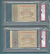 1936 Olympic Jesse Owens Gold Medal Tickets (All 4 of them) PSA Graded and Authenticated. With b... in Ramstein, Germany