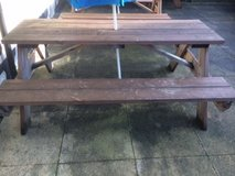8 Seater Pine Garden Benches in Lakenheath, UK