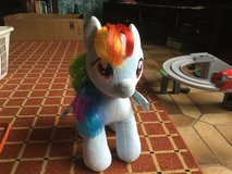 Rainbow Dash build-a-bear plushie in Ramstein, Germany