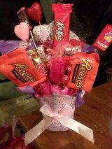 ROSE BOUQUET WITH CANDY in Beaufort, South Carolina