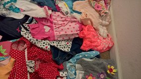 bunches of baby girl clothes in DeRidder, Louisiana