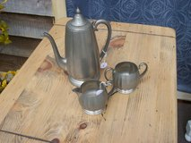 Antique Pewter Coffee Set in Perry, Georgia