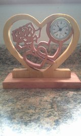 Hearts and Rose Clock in Fort Leonard Wood, Missouri