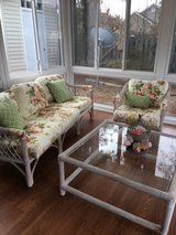 Settee/chair/ table in Cherry Point, North Carolina