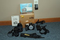 Complete Nikon D 70 package in Naperville, Illinois