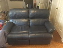 American steal couch set in Fairfax, Virginia