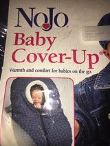 NOJO Car Seat Cover Green/Navy Plaid in Naperville, Illinois