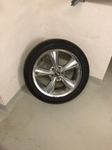 Mustang rims in Vicenza, Italy