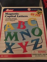 Magnetic Alphabet Letters in Bolingbrook, Illinois