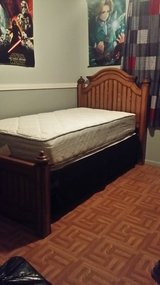 Twin Size Bed Solid Wood in Leesville, Louisiana