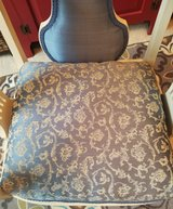 Refinished Antique Armchair (professionally reupholstered) in St. Charles, Illinois