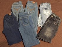Girls size 8 jeans in Fort Campbell, Kentucky