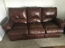 Great Leather Couch and Recliner! in Orland Park, Illinois