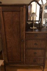 Antique Dresser with Mirror in Glendale Heights, Illinois