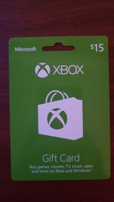 15 dollar xbox gift card in Leesville, Louisiana