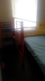 kids loft bed (mattress not included) in Fort Benning, Georgia