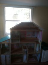 Full size wooden doll house in Dothan, Alabama