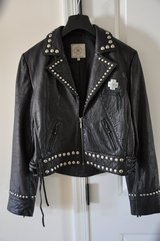 Double D Ranch Women's Black Leather Jacket (Negotiable) in Gloucester Point, Virginia
