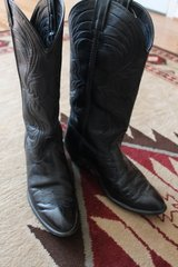 Ladies Western Cowboy Boots 7.5 Laredo Blk. in The Woodlands, Texas