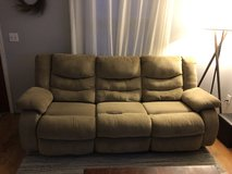 Tan couch in Fort Carson, Colorado