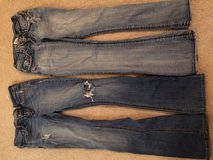 2 pair Blue Jeans Hollister and Hydraulic in Baytown, Texas