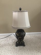lamp with scroll on body in Oswego, Illinois