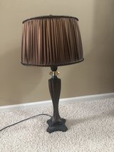 Lamp with brown tones in Oswego, Illinois
