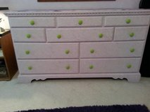 Solid Wood Dresser/10 Drawers/Repaint to Match Your Decor in Bolingbrook, Illinois