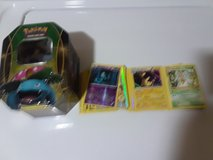 pokemon cards and codes with tin in Fort Irwin, California