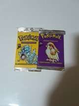 sealed base set two pokemon pacjs in Fort Irwin, California