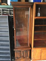 Curio Cabinet 72 inches tall; 23 1/2 wide; 14 inches deep in Fairfield, California