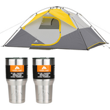 Brand New 4 person Ozark Trail 9'x7' Instant Dome Tent (+ bonus 2 Ozark Trail 30oz Tumblers) in 29 Palms, California