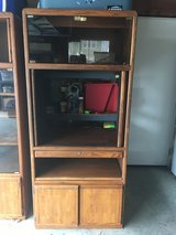 Small Oak Entertainment Center Perfect for a Bedroom 72 x 32 x 22 inches in Fairfield, California
