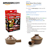 Stone Wave Microwave Cooker in 29 Palms, California