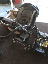 Carseat w/2 base and caddy in Camp Pendleton, California