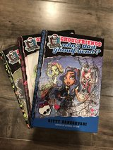 Monster high hard cover books in Travis AFB, California