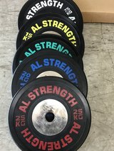 Competition Weightlifting plates in Okinawa, Japan