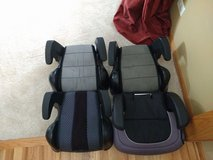 Booster car seats single or matching set in Shorewood, Illinois