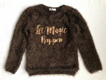 H&M furry sweater top size 6-8y in Chicago, Illinois