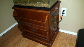 Side/night table with magazine rack and 3 drawers in Vacaville, California