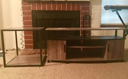 Entertainment center and end table set in Fort Lewis, Washington