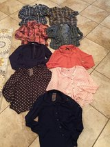 Nice tops $6 each in Fort Polk, Louisiana