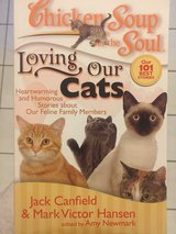 Cat Lovers: chicken soup for the soul book in Ramstein, Germany