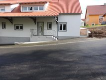 Detached house with fireplace, terrace, garden and garage in Grafenwoehr, GE