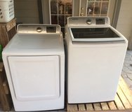 Samsung Washing Machine and Dryer in Coldspring, Texas