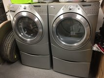Whirlpool Duet Washer and Dryer in Lockport, Illinois