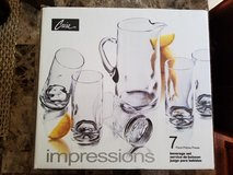 **REDUCED** Crisa Impressions 7-Piece Pitcher Set in Fort Campbell, Kentucky