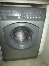 SILVER HOTPOINT AQUARIUS WASHER DRYER 7KG in Lakenheath, UK