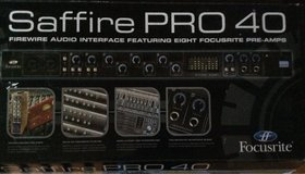 Audio Interface Focusrite Saffire PRO 40 in Baumholder, GE