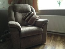 Electric reclining chair in Lakenheath, UK
